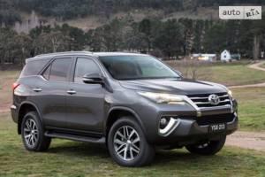 Toyota fortuner 2 покоління Внедорожник