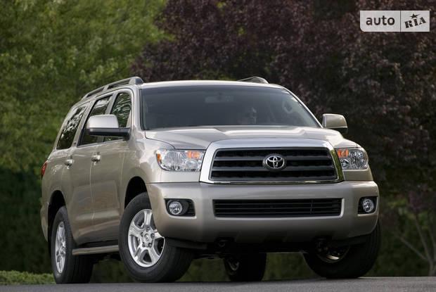 Toyota Sequoia 2 покоління Позашляховик