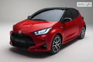 Toyota yaris 4-е поколение Хэтчбек