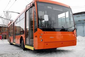 ТролЗа 5265 1 покоління Троллейбус