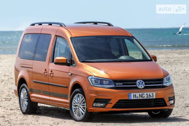 Volkswagen Caddy пасс. ІV покоління Мінівен