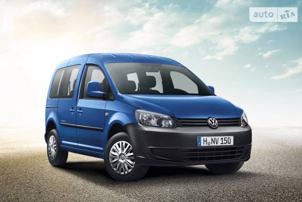 Volkswagen Caddy пасс. ІІІ покоління, рестайлінг Минивэн
