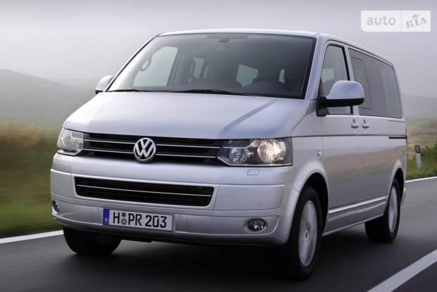 Volkswagen Caravelle T5 рестайлінг Мінівен