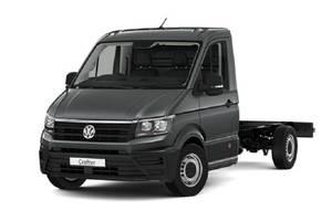 Volkswagen crafter-gruz ІІ покоління Шасси