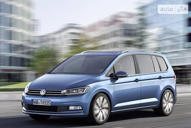 Volkswagen Touran III покоління Мікровен