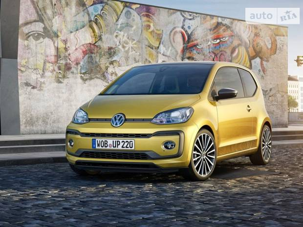 Volkswagen Up I покоління, 1 рестайлінг Сіті-кар
