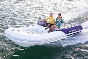 Williams sportjet 1-е поколение Лодка