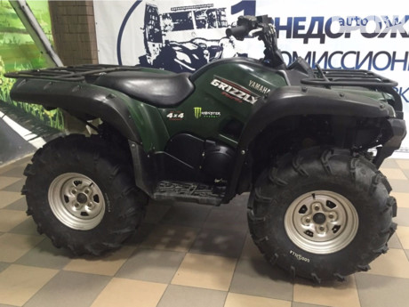Yamaha Grizzly 2015