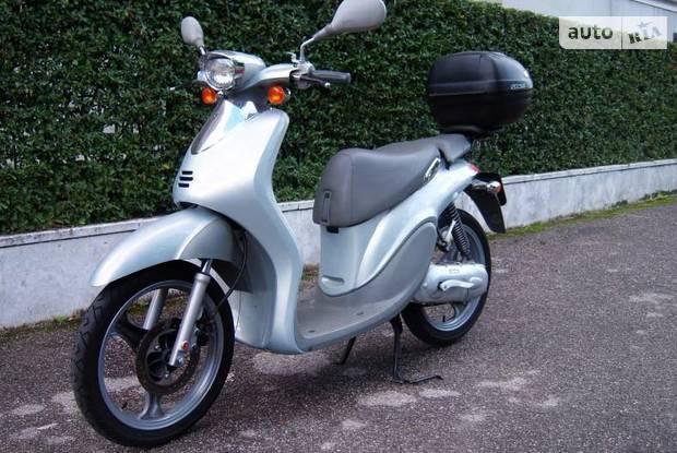 Yamaha YH 1 поколение Скутер