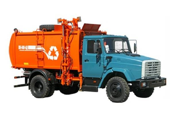 ЗИЛ 433371 1 покоління (2 рестайлінг) Машина мусоровоз