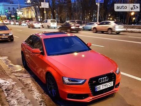 Audi S4 3.0 TFSI S-tronic (333 л.с.) quattro  2015