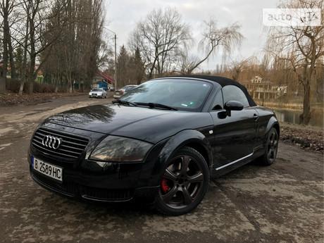 Audi TT 1.8 TFSI МТ (180 л.с.) 2000