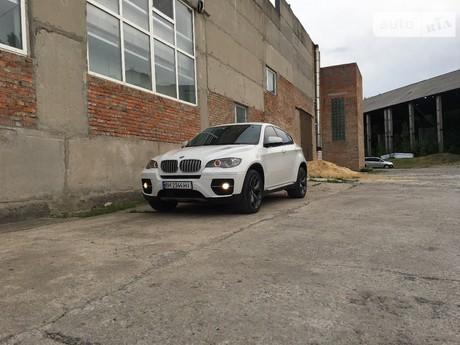 BMW X6 35i AT (306 л.с.) xDrive 2011