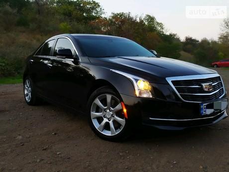 Cadillac ATS 2.0T AT (272 л.с.) 2016
