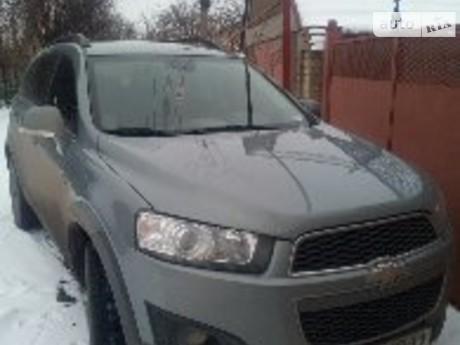 Chevrolet Captiva 2.4 AT (167 л.с.) 2013