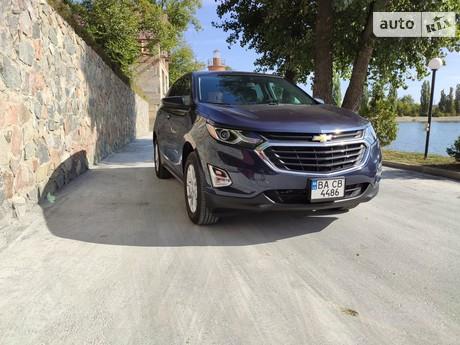 Chevrolet Equinox 1.5i (170 л.с.) AT AWD 2018