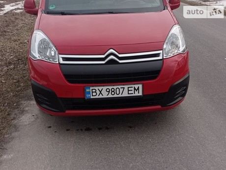 Citroen Berlingo пасс. 2016