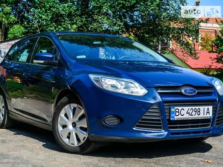 Ford Focus 1.6 MT (125 л.с.) 2012