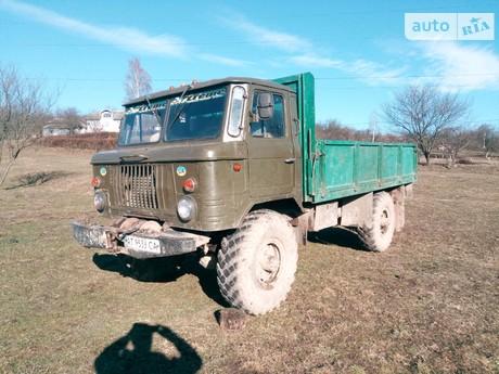 ГАЗ 66 1986