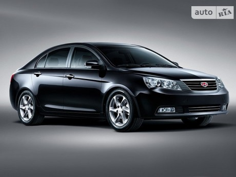 Geely Emgrand 7 (EC7) 1.8 AT (127 л.с.) 2013