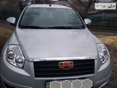 Geely Emgrand X7 2013