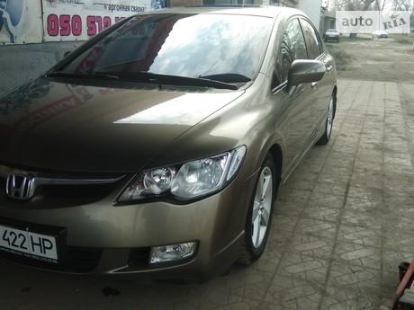 Honda Civic 1.8 MT (140 л.с.) 2008