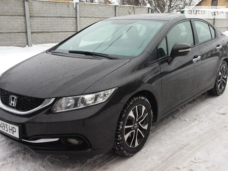 Honda Civic 1.6 AT (125 л.с.) 2014