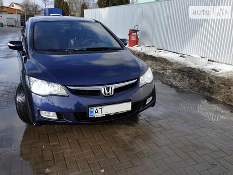 Honda Civic 1.8 МТ (142 л.с.) 2007