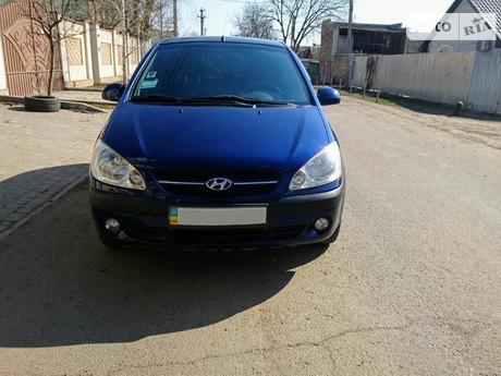 Hyundai Getz 1.4 AT (95 л.с.) 2007