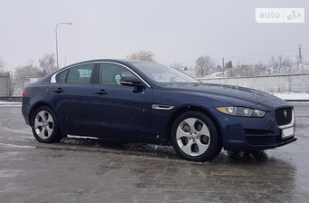 Jaguar XE 2.0D AT (180 л.с.) 2016