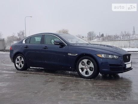 Jaguar XE 2.0D AT (180 л.с.) 2016