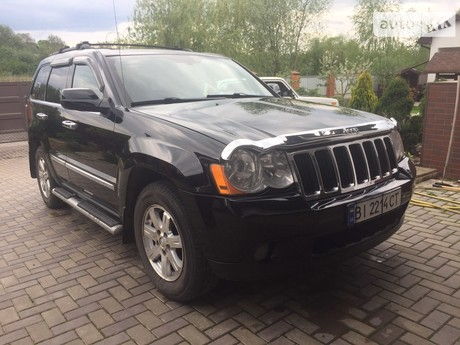 Jeep Grand Cherokee 3.6 AT (286 л.с.) 2008