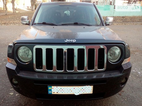 Jeep Patriot 2.4 CVT (170 л.с.) 2008