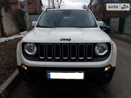 Jeep Renegade 2.4 АТ (184 л.с.) 2017