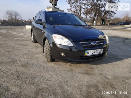 Kia Ceed 1.6D MT (115 л.с.) 2008