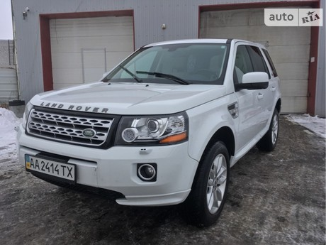 Land Rover Freelander 2 2.2TD AT (150 л.с.) 2014