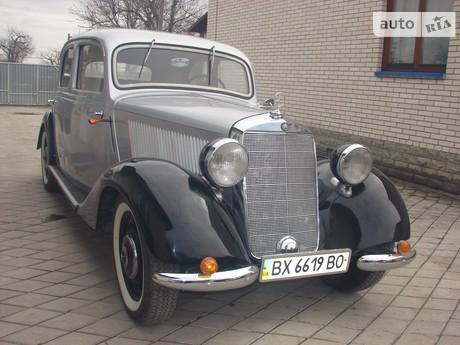 Mercedes-Benz 170 1938