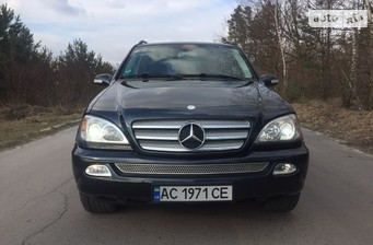 Mercedes-Benz ML 270 2002
