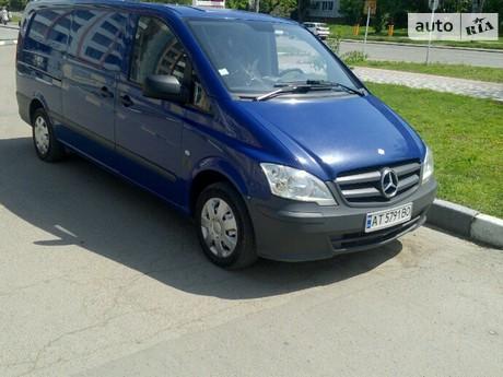 Mercedes-Benz Vito груз. 113 CDI MT (136 л.с.) 2011