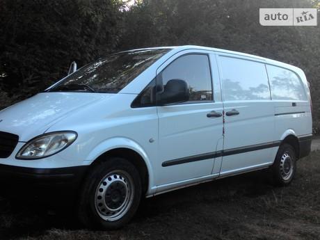 Mercedes-Benz Vito груз. 116 CDI MT (163 л.с.) Compact  2007