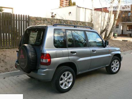 Mitsubishi Pajero Pinin 2002
