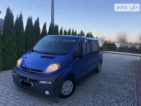 Opel Vivaro пасс. 2002