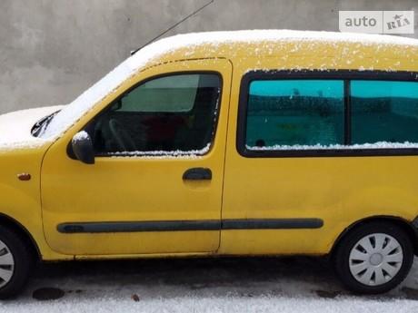 Renault Kangoo пасс. 1.2 MT (60 л.с.) 1999