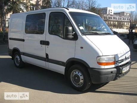 Renault Master пасс. 2003