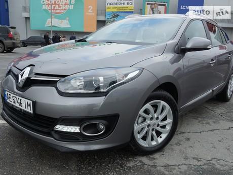 Renault Megane 1.5D EDC AT (110 л.с.) 2014