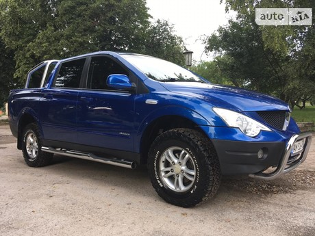 SsangYong Actyon Sports 2.0D AT (141 л.с.) 2011
