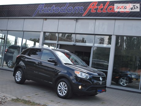 SsangYong Korando 2.0 AT (149 л.с.) 2014