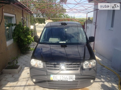 Volkswagen Caddy пасс. 1.9 TDI  MT (77 kw) 2010