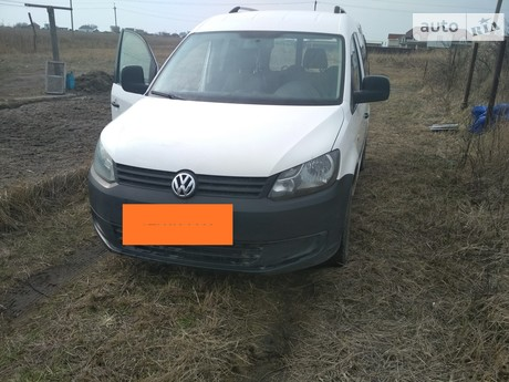 Volkswagen Caddy пасс. 2010