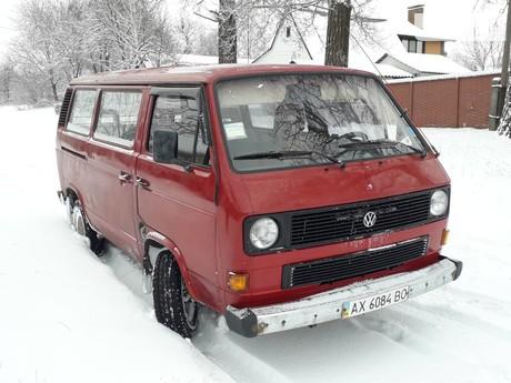 Volkswagen T3 (Transporter) пас. 1989